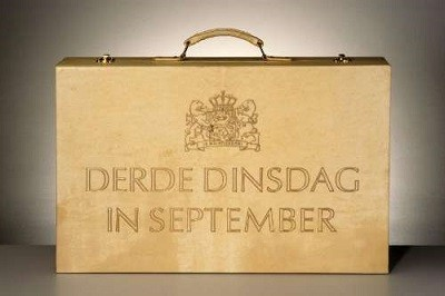 Koffertje derde dinsdag in september
