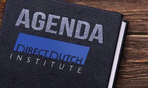 'Spreek samen Nederlands' (Speak Dutch together) after the summer!