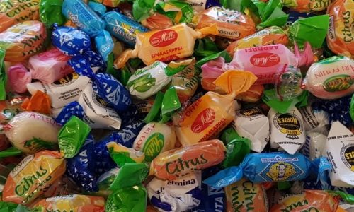 Four typical Dutch sweets
